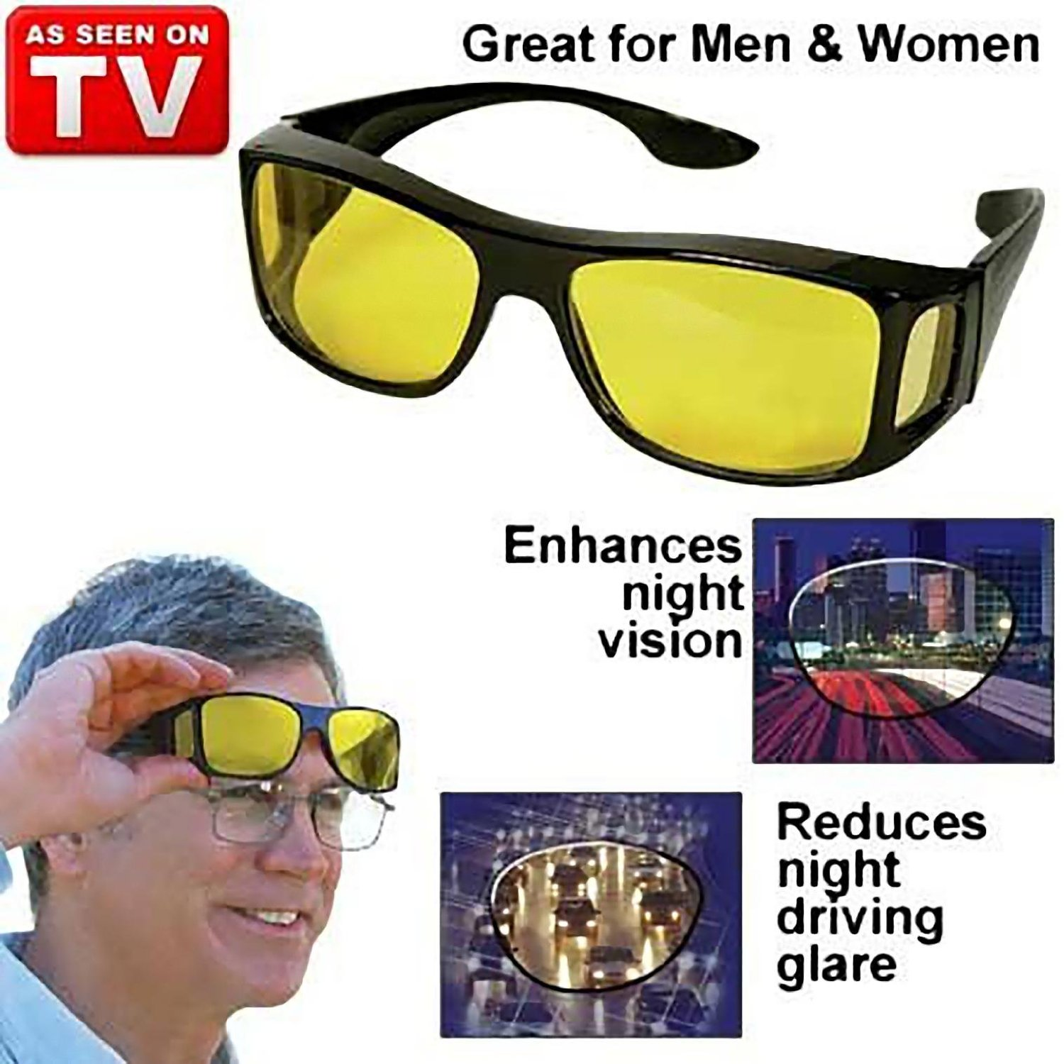 a6256ffe8a Night Vision Glasses – For Driving at Night BUY 1 GET 1 FREE ...